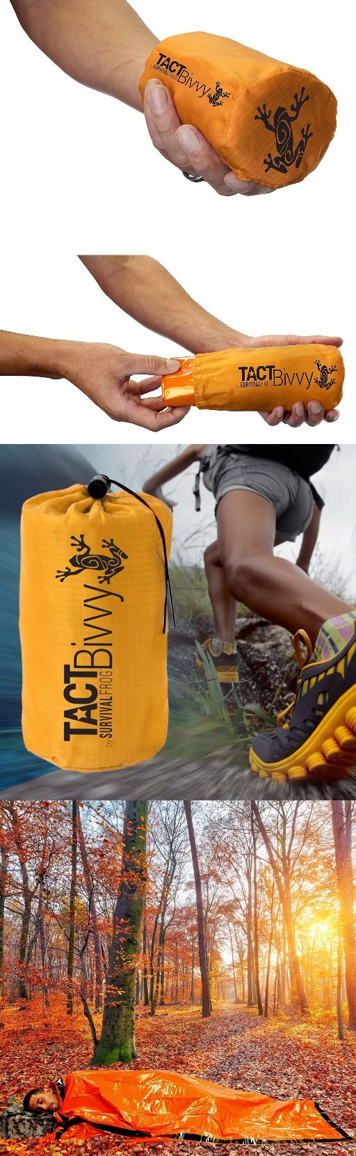 TACT Bivvy Emergency Sleeping Bag by Survival Frog