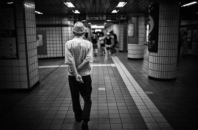 """Crossed Hopes"" Eric Kim Street Photography Seoul Korea"