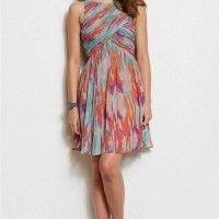 TodoMercado - ARMANI EXCHANGE Printed Swing Dress Print NWT