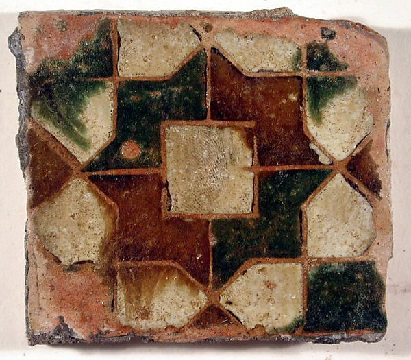 Tiles (2) Date: 16th–17th century Culture: Spanish, Seville