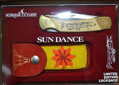Schrade Knives   Sun Dance Scrimshaw - BUY NOW ONLY 70.0