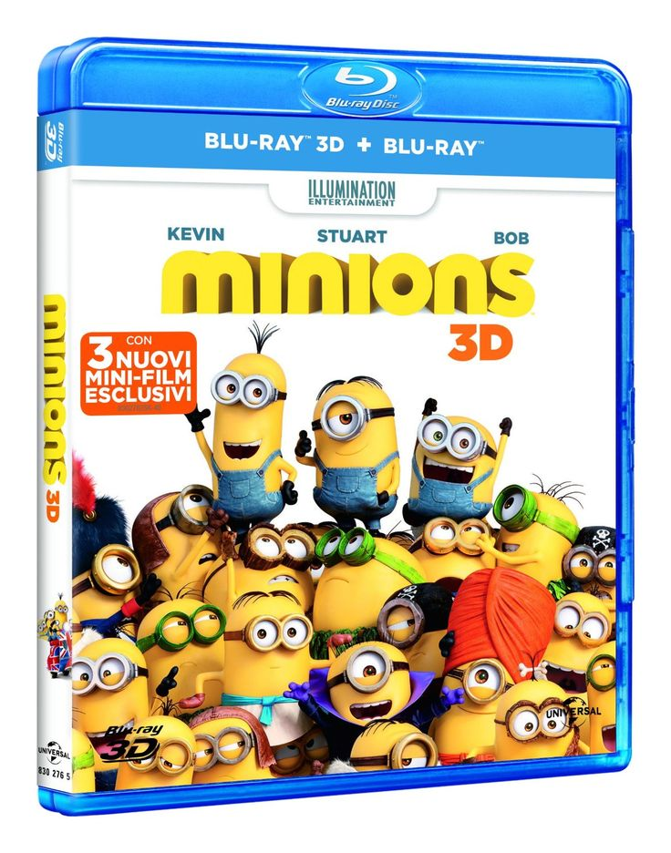 Minions (3D) (Blu-Ray+Blu-Ray 3D): Amazon.it: Pierre Coffin, Kyle Balda: Film e TV EURO 12,99
