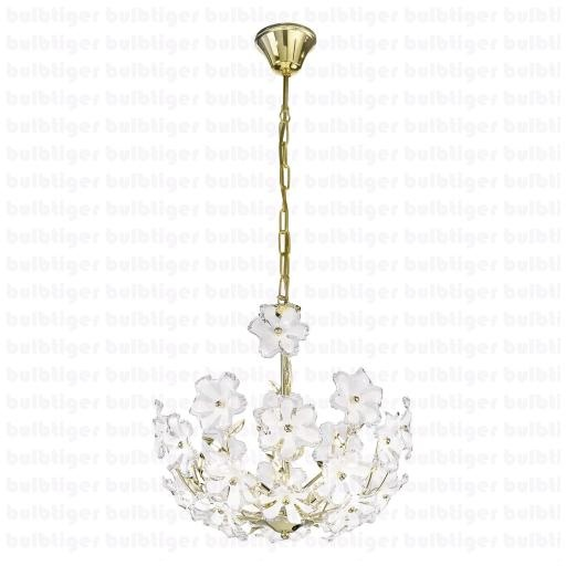 Simple style goes a long way in decors. This modern, simple glass, floral design pendent light will not only bring out the great taste of style but also light up your room brightly. So add vitality to your living room, bedroom, kitchen, corridor or even office. Pick up this pendent light only at http://www.bulbtiger.com/EGLO-Pendant-Lights-DIANA-Brass-8589-pid-3300-cat-93.html