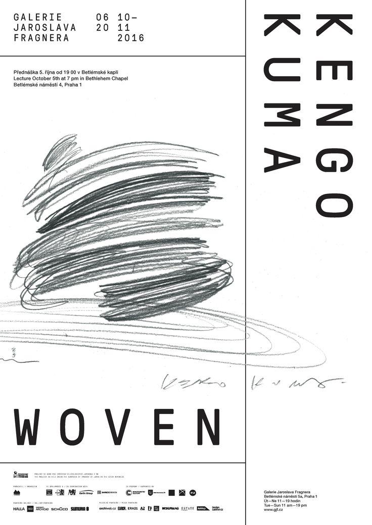 Připravujeme   KENGO KUMA / WOVEN   Galerie Jaroslava Fragnera