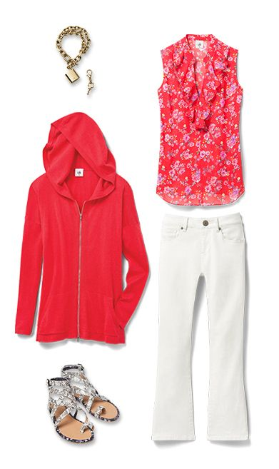 Check out five unique ways to mix and match the Crush Top with other cabi items!