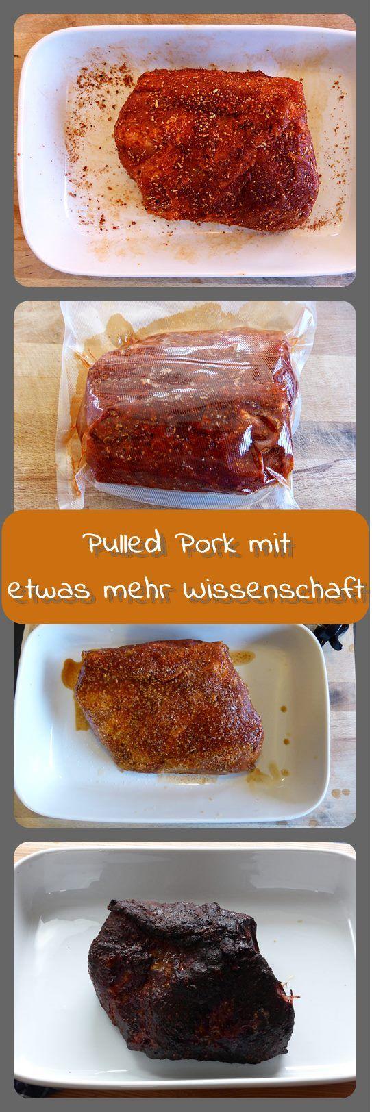 Pulled Pork mit etwas mehr Wissenschaft Pulled Pork ist nach wie vor eines der beliebtesten BBQ-Rezepte unter den ambitionierten Grillern. Nachdem ich bereits eine Variante von Pulled Pork f...