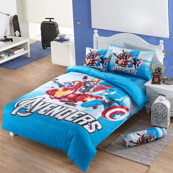 queen size avengers themed bedding Kids bedding sets