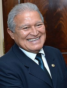 Salvador Sanchez Ceren, President of El Salvador since June 1, 2014. He previously served as Vice President from 2009 to 2014. Ceren vows to fight organized crime and boost the economy in a country with one of the world's highest homicide rates. Wedged between Guatemala and Honduras, El Salvador has struggled to contain a homicide rate estimated at 41 per 100,000 inhabitants in 2012, the fourth-highest in the world after Honduras, Venezuela and Belize, according to the United Nations.