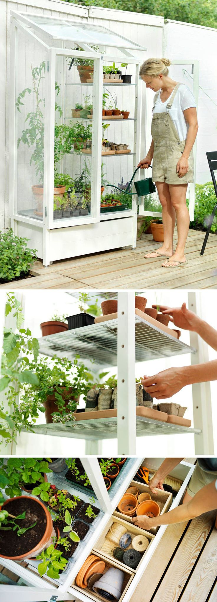 These Customizable Garden Shelves Enable To Become A Master Gardener, Or At  The Very Least
