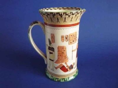 Royal Doulton 'Egyptian A - Pottery' Series Ware Concord Jug c1912 D3419