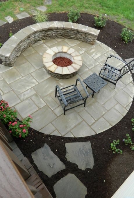 Patio under deck with separate firepit patio - Patios & Deck Designs - Decorating Ideas - HGTV Rate My Space