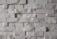 Elewacje z kamienia, płytki ceglane, kamienne - Elkamino Dom