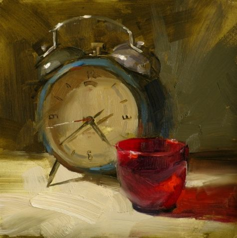 Frozen Time, painting by artist Qiang Huang