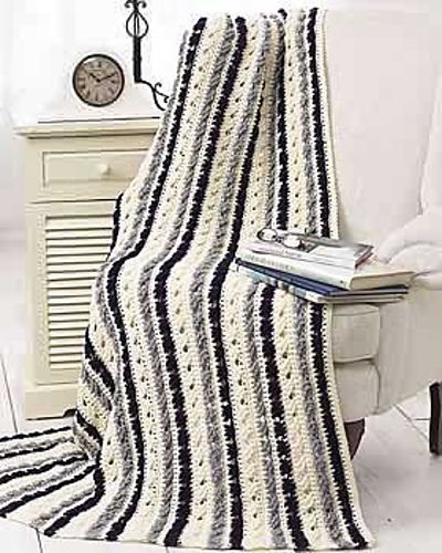 Ravelry: Treble Cross Crochet Blanket pattern by Bernat Design Studio