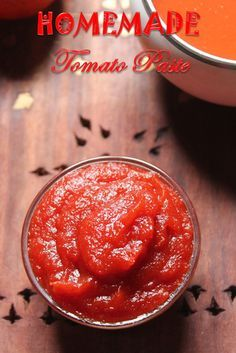 YUMMY TUMMY: How to Make Tomato Puree & Tomato Paste at Home