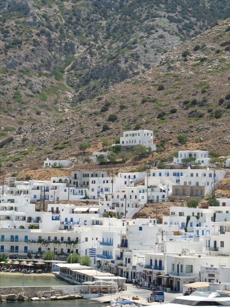 Port of Sifnos island, Greece