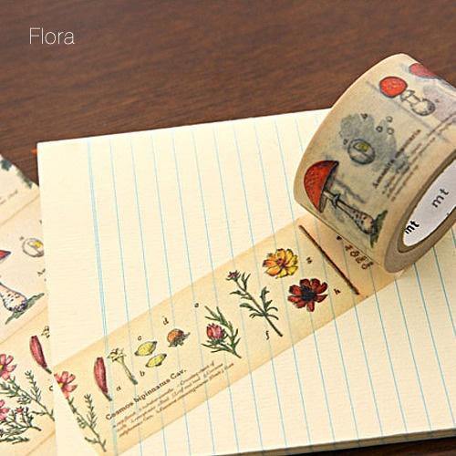 illustrated washi tape - cool!: Vintage Images, Flora Illustrations, Botanical Illustrations, Beauty Washi, Illustrations Washi, Floral Washi Tape, Botanical Washi Tape, Illustrations Tape, Crafts