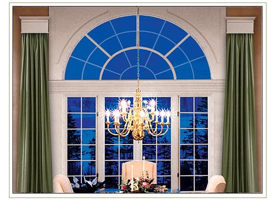 Window Cornice Window Treatment For Large Windows