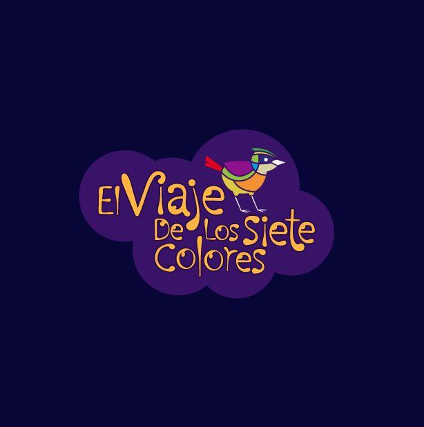 El viaje de los siete colores Logo para concurso de afiches