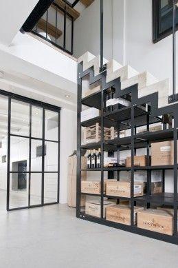 Betonnen trap met staal, Prinsengracht VI | Kodde Architecten