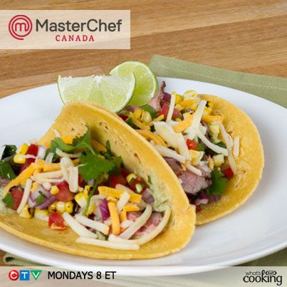 18 best masterchef canada images on pinterest kraft dinner get the kraft canada recipe for these delicious flank steak tacos inspired by the blue teams winning dish in the food truck challenge forumfinder Gallery
