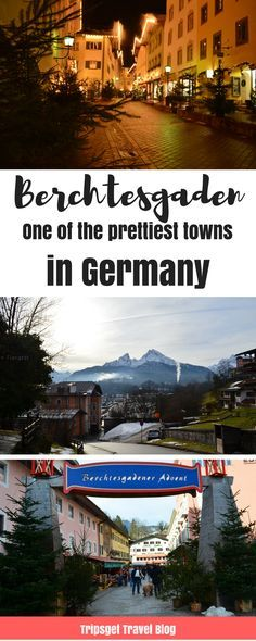 Berchtesgaden - one of the prettiest towns in Germany. Beautiful German cities. Things to do in Berchtesgaden