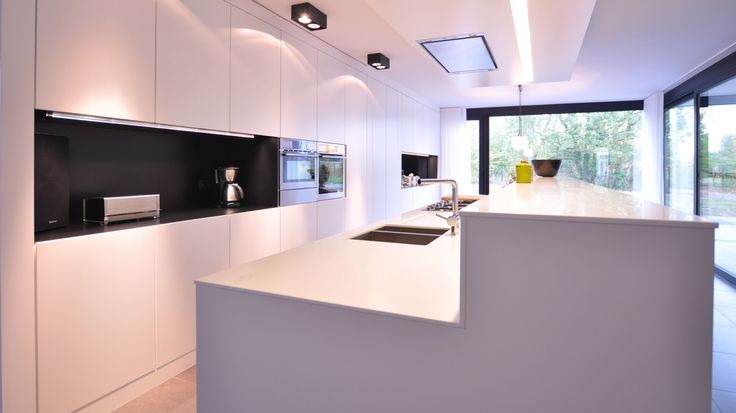 Modern augustijns keukens kitchen pinterest met search and modern for Interieur moderne