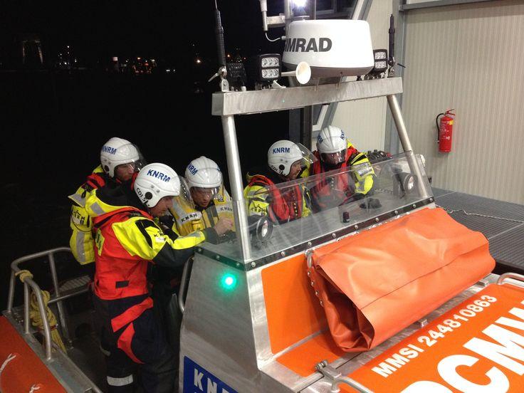 KNRM reddingboot Cornelis Dito, haven Oudeschild, Noord-Holland