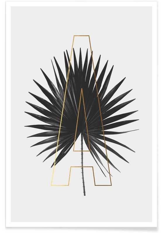 Plants A as Premium Poster by typealive | JUNIQE
