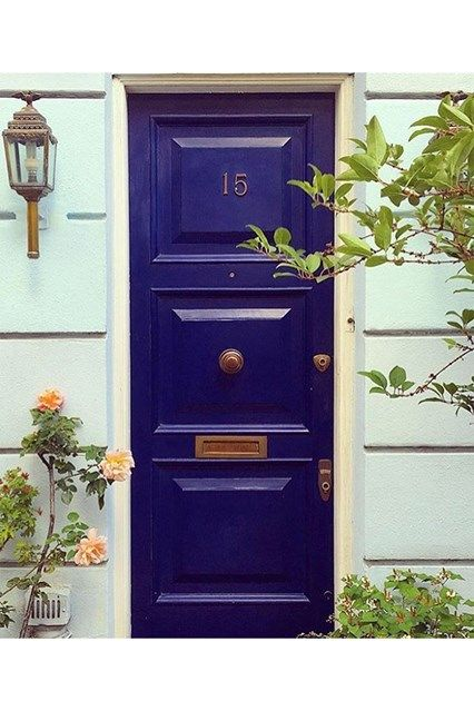 London Blue Door - See the most beautiful doors from all around the world courtesy of Door J'adore pics from their regular Instagram takeovers on the House & Garden account.