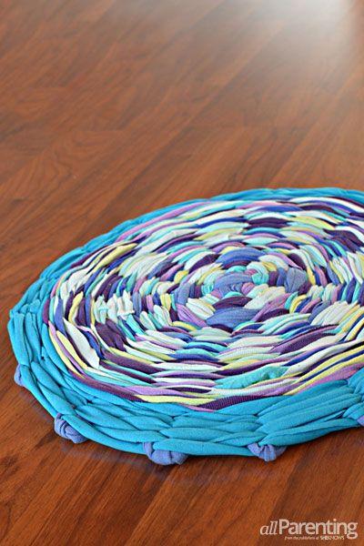 5 méthodes et 14 diy pour se fabriquer un tapis - Plumetis Magazine