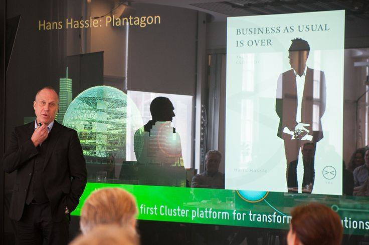 Hans Hassle, CEO, Plantagon talk about the need for transformative solutions getting ready for a world with 9 billion people