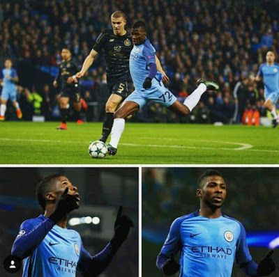 Iheanacho scores a thunderbolt goal to save Manchester City shares photo on Instagram as Fans React  Iheanacho scores a thunderbolt goal to save Manchester City shares photo on Instagram as Fans React  After scoring what happens to be a crucial equalizer for Josep Guardiola's men in 1-1 draw at home against visiting Celtic  Nigerian Kelechi Iheanacho took to his Instagram and Twitter to share photo of his joy for scoring a wonderful goal.The 20-year-old forward's goal was what Manchester…