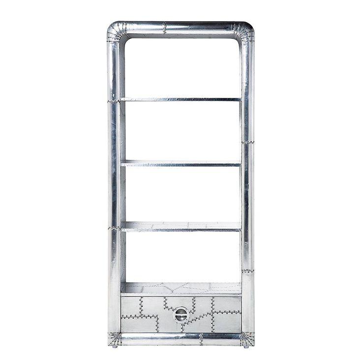 Regal Soho - Aluminium, Kare Design Jetzt bestellen unter   - Regale Für Wohnzimmer