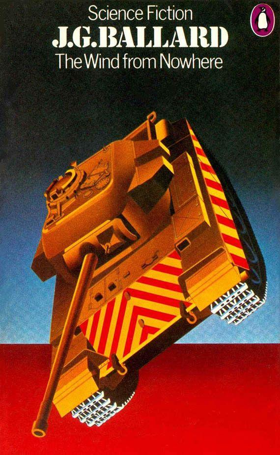 J.G. Ballard cover design by David Pelham