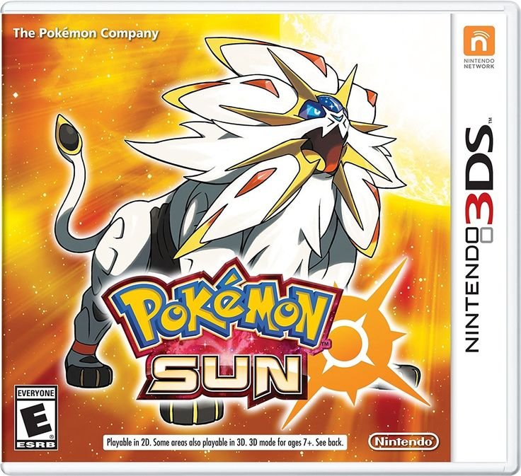 Pokemon Sun Pre-Order For 3DS (Physical Cartridge)