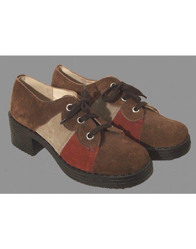 Erde Schuhe der 1970er Jahre
