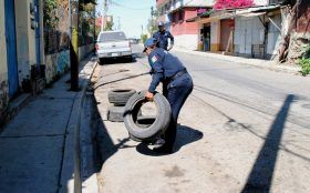 Implementa Gobierno Municipal operativo para evitar que se aparten lugares en la vía pública