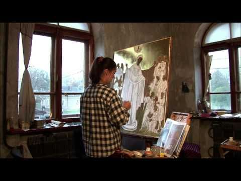 Peinture icônes - YouTube