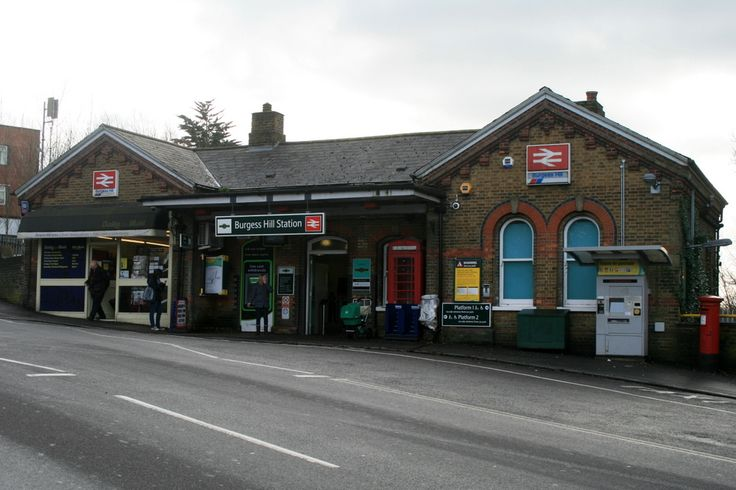Burgess Hill Railway Station (BUG) in Burgess Hill, West Sussex