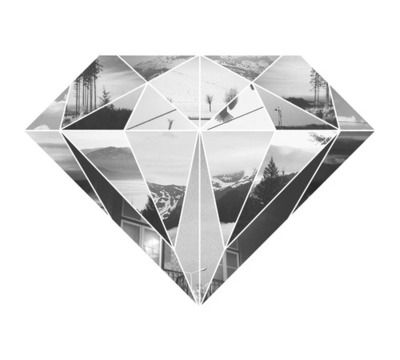 Designspiration — Noah Collin | Graphic Design... Washi tape on B's wall? Fotos inside lines?