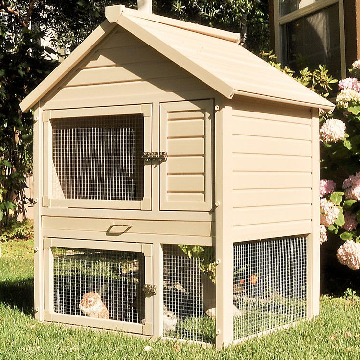 eco friendly rabbit house it 39 s a spacious townhouse for. Black Bedroom Furniture Sets. Home Design Ideas