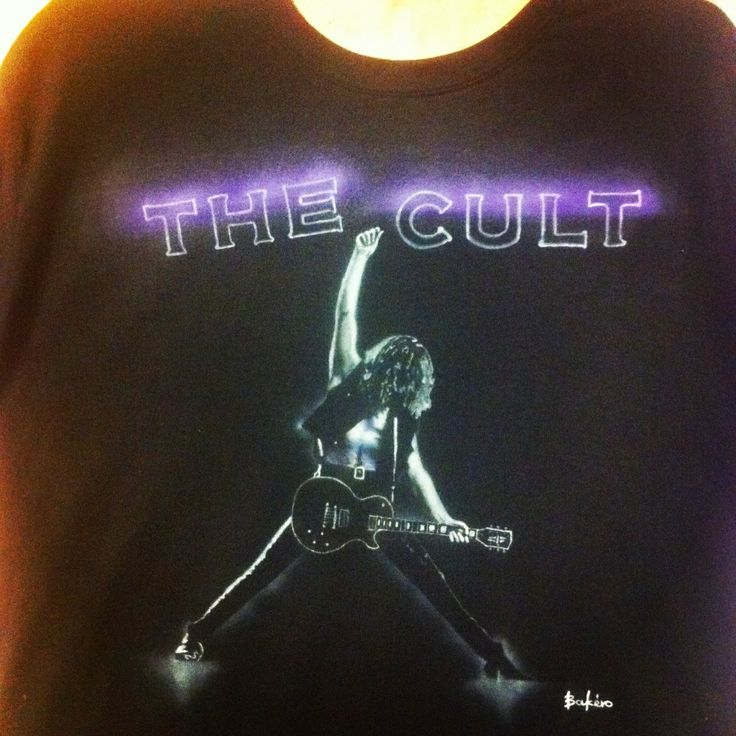Airbrushed t-shirt...