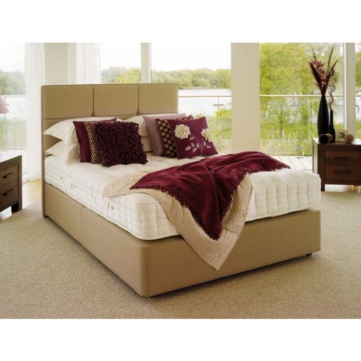 Hypnos Orthos Latex Super King Size Zip & Link Divan Bed for £1,837.30