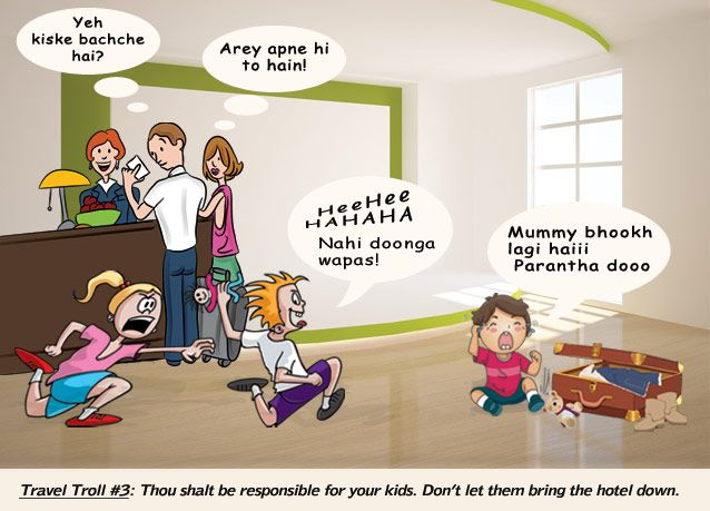 Indian Travel Troll 3: Naughty Kids? Watch Out!