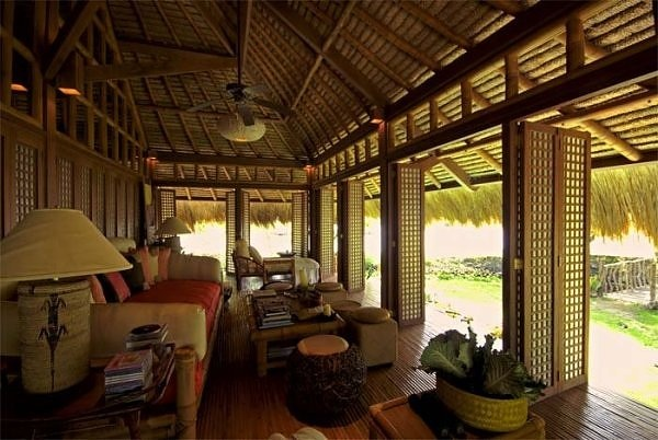 1000 images about tropical architecture on pinterest for Nipa hut interior designs
