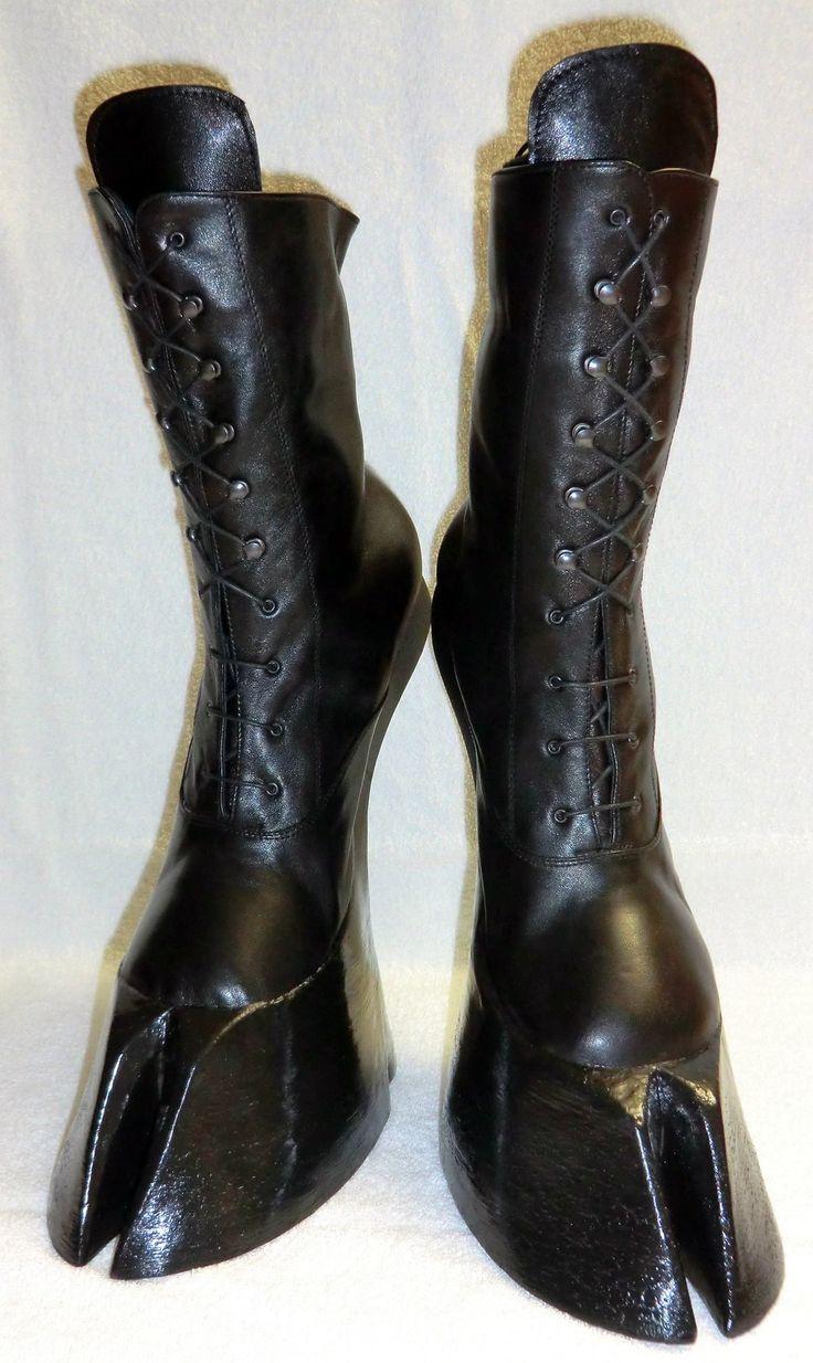 Satyr hoof boots