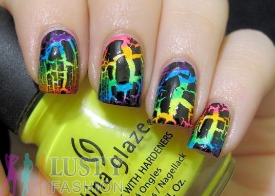 639 best nails images on pinterest nail scissors nail design crackle nail art designs 2013 httplustyfashiontop prinsesfo Gallery