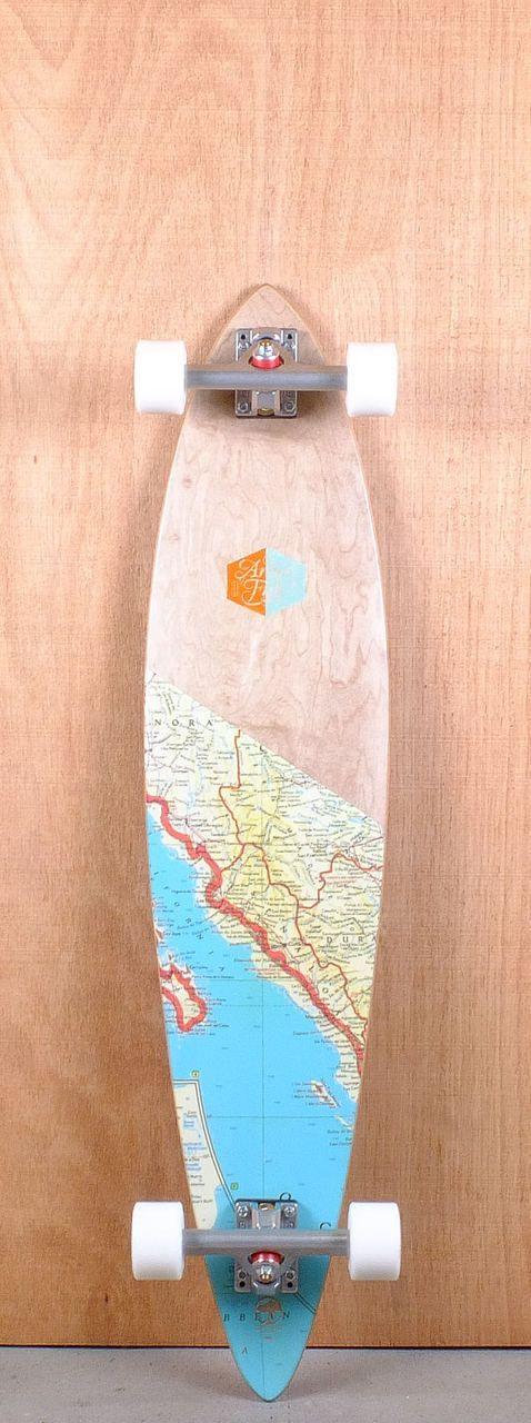 """Arbor 39"""" Fish Premium Longboard Complete"""
