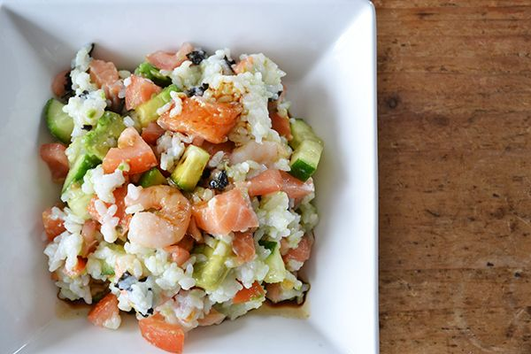 Sushi salad | OhMyFoodness recipes | Pinterest